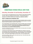 Cookie Walk and Fair - 2015