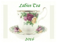 Ladies Tea - 2016A