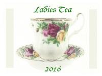 Ladies Tea - 2016A